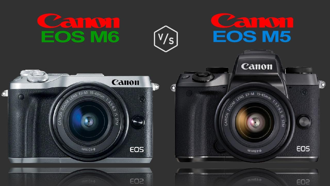 canon eos m6 vs canon eos m5 youtube. Black Bedroom Furniture Sets. Home Design Ideas