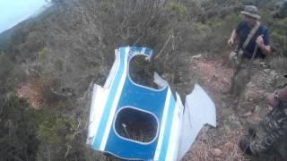 Plane Crash: DC-9-30 ATI remains in Capoterra