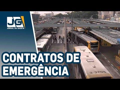 Ônibus rodam com contratos de emergência