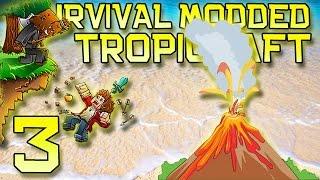 Minecraft: Modded Tropicraft Survival Let