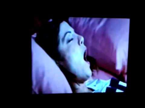 Grey Black scary movie 2 bedroom scene Lohrbach