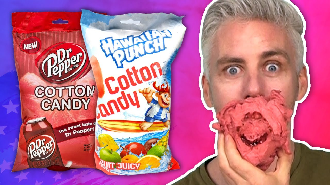 Irish People Try American Cotton Candy