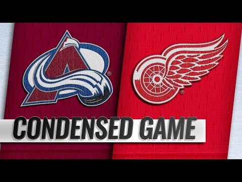 12/02/18 Condensed Game: Avalanche @ Red Wings