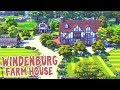 Windenburg Farm House || The Sims 4: Speed Build