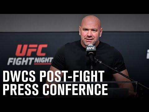 Dana White's Contender Series Post-fight Press Conference |