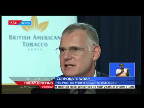 British American Tobacco announces 4.2 Billion shillings profit for 2016