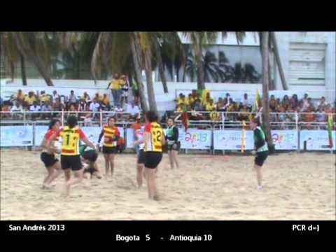 playa final femenino San Andres 2013 Bogotá vs Antioquia