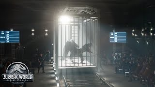 "Jurassic World: Fallen Kingdom - In Theaters June 22 (""New Weapon"") (HD)"