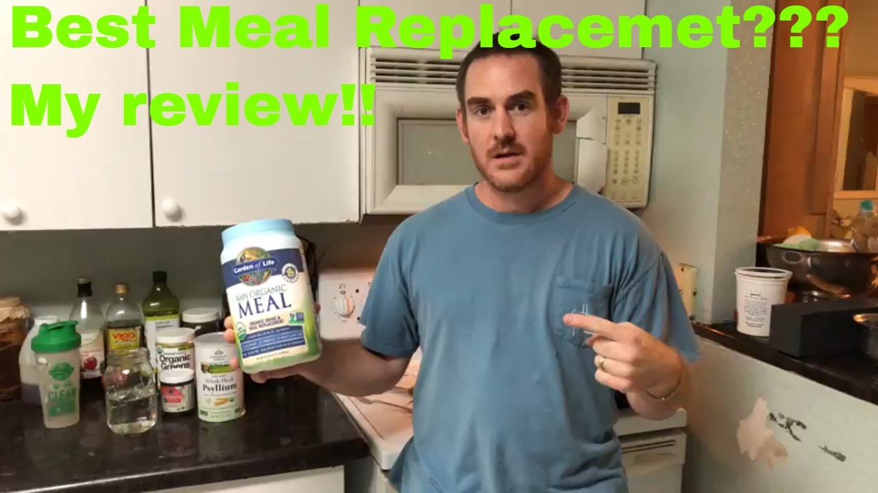 Raw Organic Garden Of Life Meal Replacement Shake Worth It Truth Exposed My Review Youtube