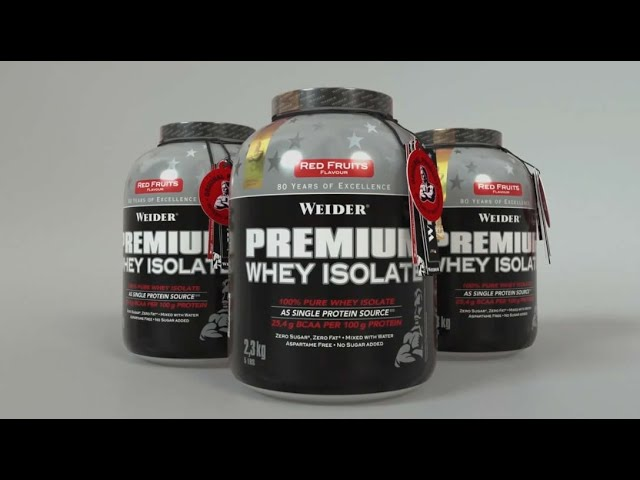 WEIDER Premium Whey Isolate