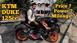 KTM DUKE 125 cc || WATCH IT BEFORE YOU BUY || REVIEW || HINDI || 2019 || AMV