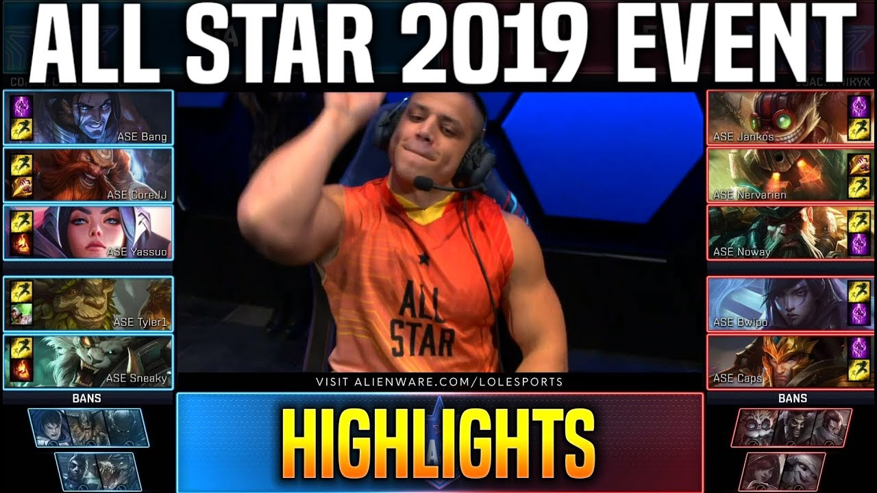 Na Influencers Vs Eu Influencers Highlights Lol All Star 2019 Day 1