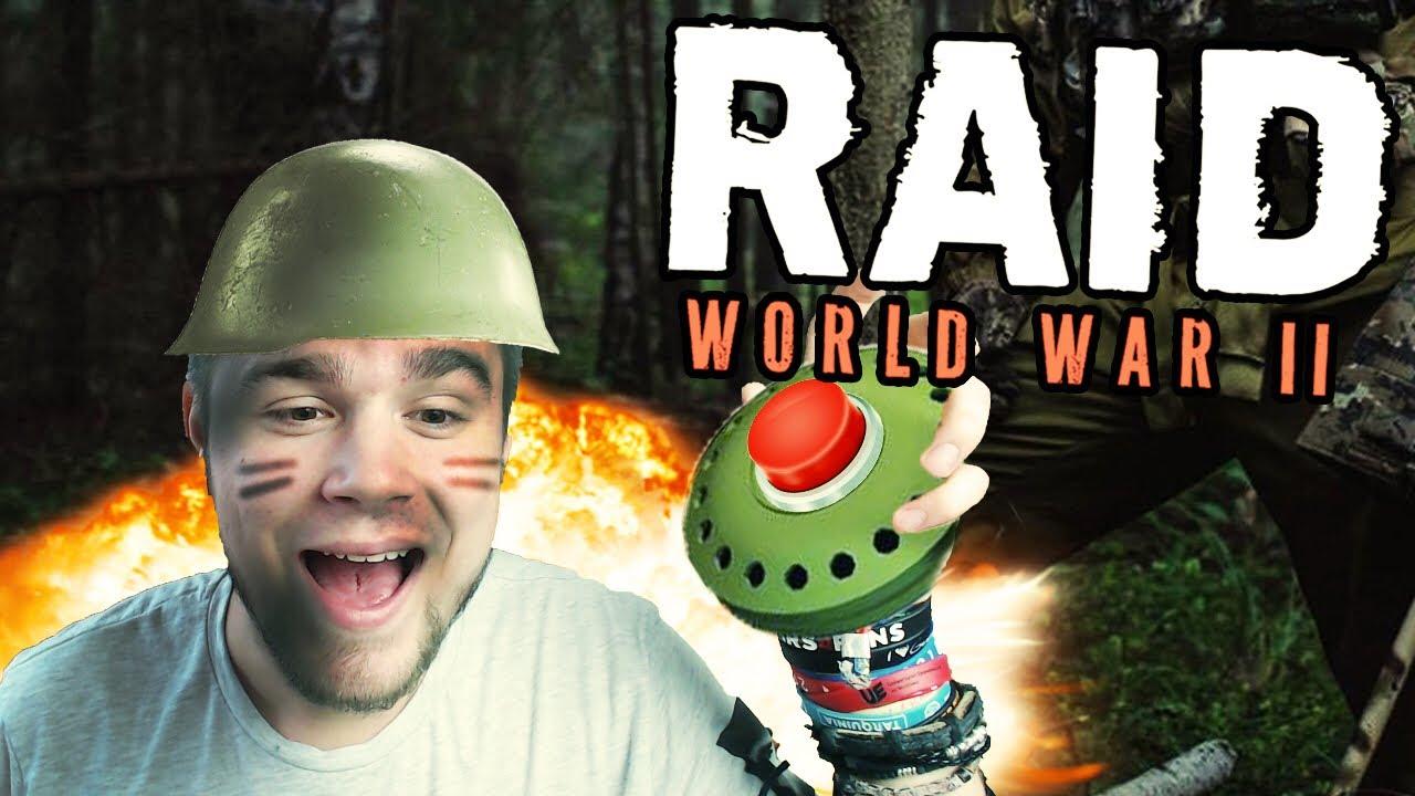 ZASADZKA NA KONWÓJ! | RAID: World War II [#5] (With: Robuch, Tominator)