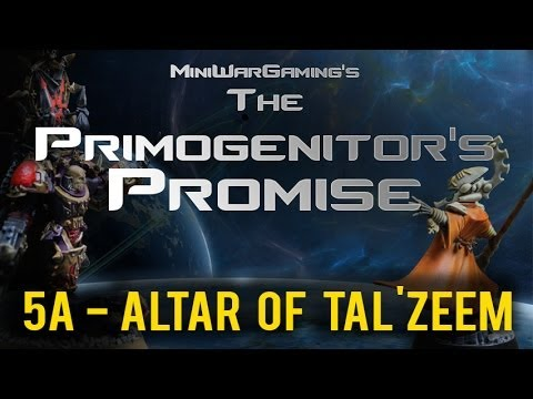 Altar of Tal'zeem (Mission 5a) Primogenitor's Promise Eldar Chaos 40k Narrative Campaign
