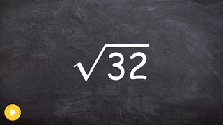 How Simplify Square Root