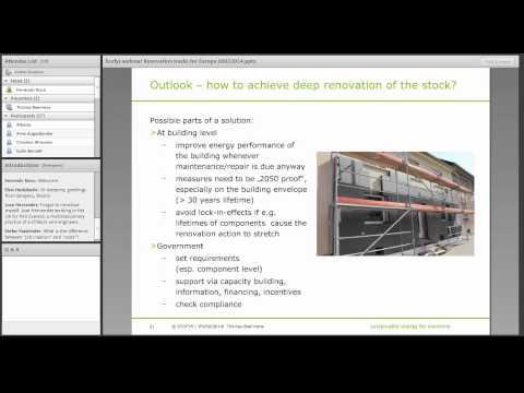 Renovation Tracks for EU building stock at 2050 time horizon