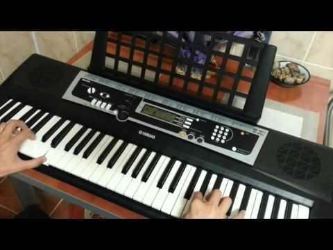 Yamaha YPT 210 Demo - Cheap Keyboard, Great Sounds