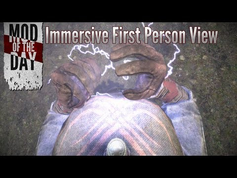 Skyrim Mod of the Day - Episode 255: Immersive First Person View (In-Depth Review)