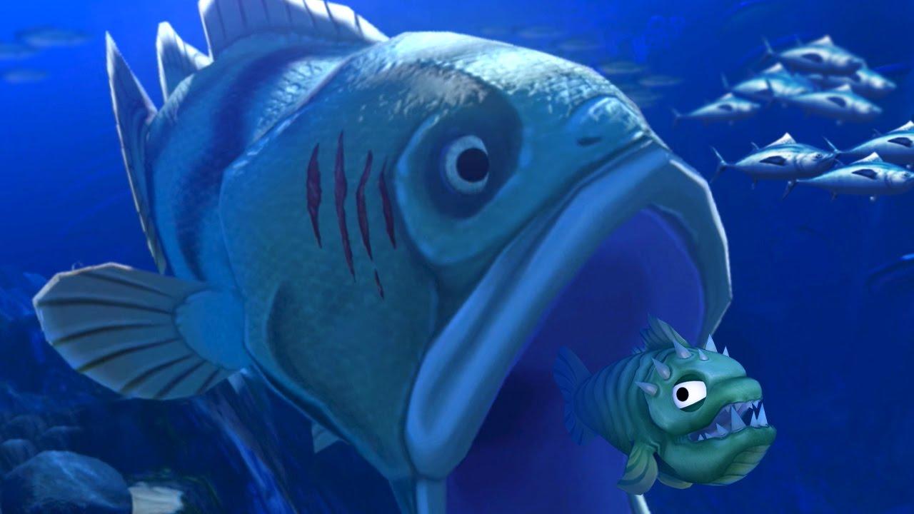 GIANT FISH EATS!!! – Feed And Grow   Ep20