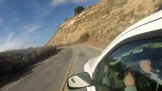 Scenic Drive from Big Sur to Bixby Bridge with Nissan Xterra (HD)