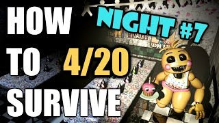 How To Survive And Beat Five Nights At Freddy