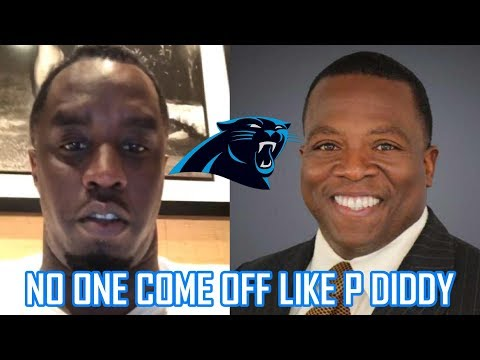Sports Reporter Makes Fun of Diddy for Wanting to Buy Carolina Panthers Then Apologizes