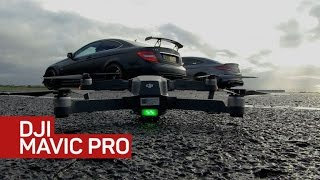 Can DJI's Mavic drone fly with the pros?