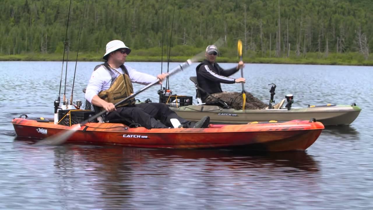 Pelican catch 120 fishing kayak youtube for Youtube kayak fishing