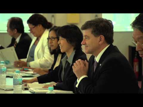 "ILO's Director-General Guy Ryder visits a ""Hello-Work"" employment centre in Japan"