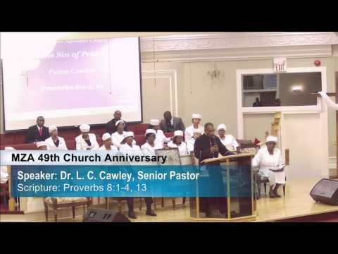 "Apostolic Preaching – ""The Sin of Pride"" (Dr. L. C. Cawley)"