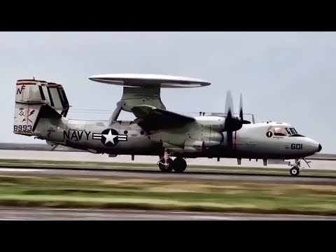 E-2D Advanced Hawkeye • Airborne Early Warning Aircraft
