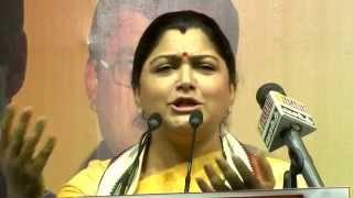 If  I'm Glamour Actress then who is Jayalalithaa? - Kushboo & E. V. K. S Teasing Jayalalithaa