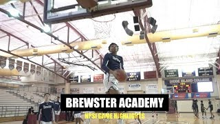 Jalen Lecque and Brewster Academy Put On a Show at NPSI - Full Highlights