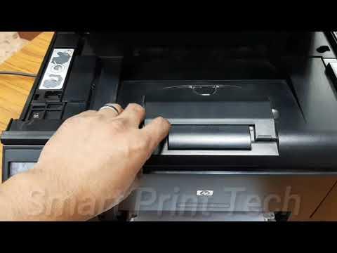 Replacing Toner Cartridges On HP Pro M175a Color Laserjet Printer
