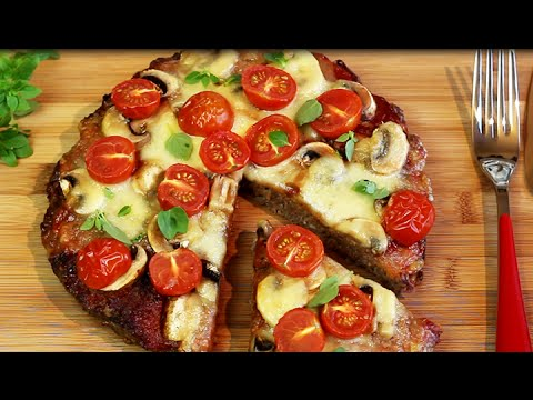 low carb hackfleischpizza youtube. Black Bedroom Furniture Sets. Home Design Ideas