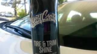 Westcoast customs tire and trim shine demo