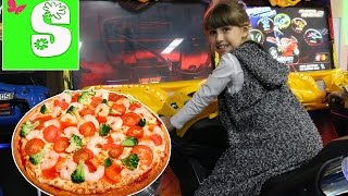 VLOG Развлекательный Центр Entertainment Center video Пицца Pizza FOR KIDS CHILDREN ДЛЯ ДЕТЕЙ