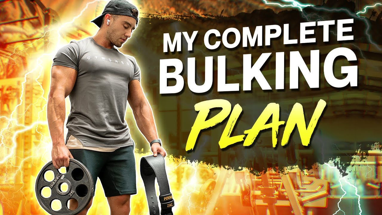 My LEAN BULKING Plan | (Diet, Training, Supplements, Cardio and Mindset)