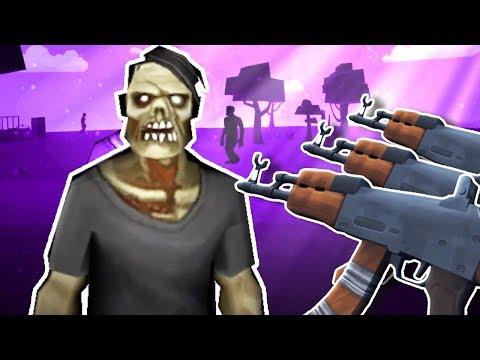 ВЫЖИВАНИЕ НА НОЧНОМ ОСТРОВЕ С ЗОМБИ В ВР! - строитель против зомби - Undead Development VR