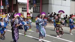 花輪ばやし 8/19 子供パレード ブログ用動画;記録用.