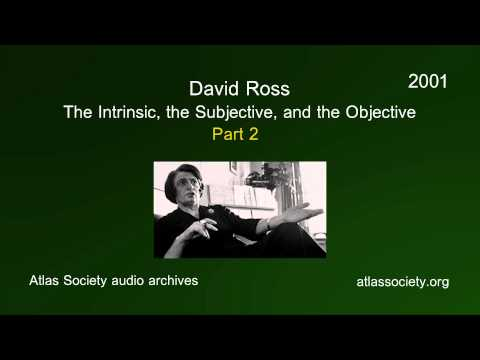 The Intrinsic, the Subjective, and the Objective (Part 2)