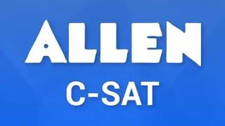 Allen CSAT use kaise kare🔥🔥🔥🔥🙏🙏🙏🤟 screenshot 2