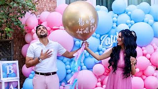 OUR OFFICIAL BABY GENDER REVEAL! The Zaid Family
