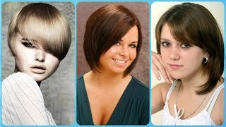 💘 💘 💘 20 trendi frizure sa siskama za okruglo lice 💘 💘 💘