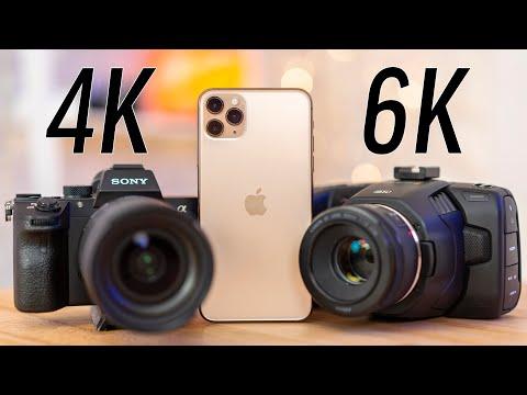 IPhone 11 Pro Vs 4K Video & 6K Cinema Camera!