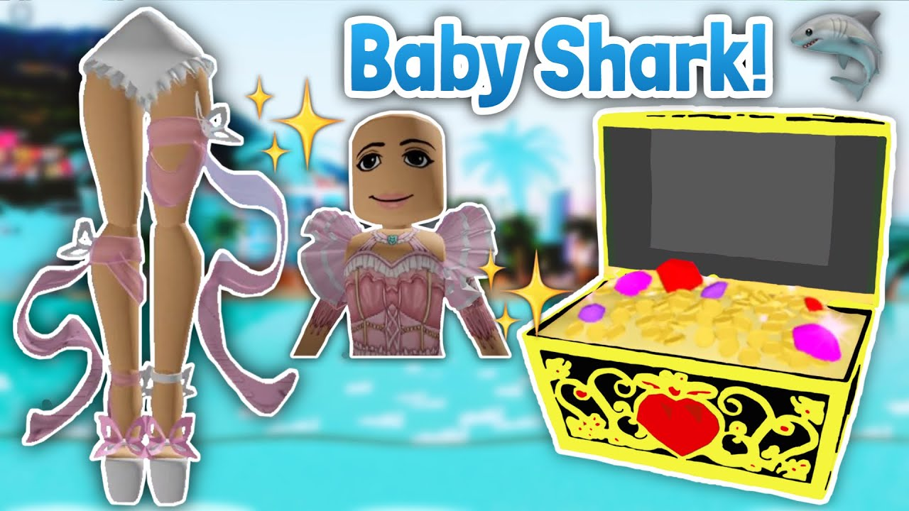 Baby Shark Chest Accessory Butterfly Heels Sleeves Leaked