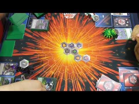Facing Justin the Creator Of Bakugan in a fun game |
