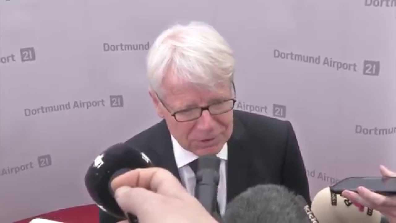 "Dr. Reinhard Rauball: ""Chancen stehen 50:50"" | Borussia Dortmund - FC Bayern München | DFB-Pokal"