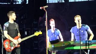 coldplay band introduction live in berlin 2016