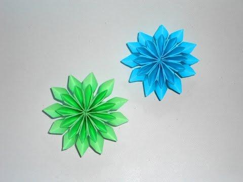 Bunga Kertas Origami, DIY